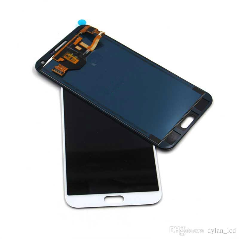 """For SAMSUNG GALAXY E7 LCD E700 Display E700F E700H Touch Screen Digitizer Assembly Replacement For 5.5"""" SAMSUNG E7 LCD COPY Adjustable light"""