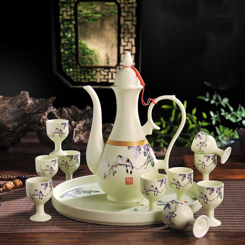 Großhandel Geschenkbox Jingdezhen Keramik Porzellan Vintage Paern