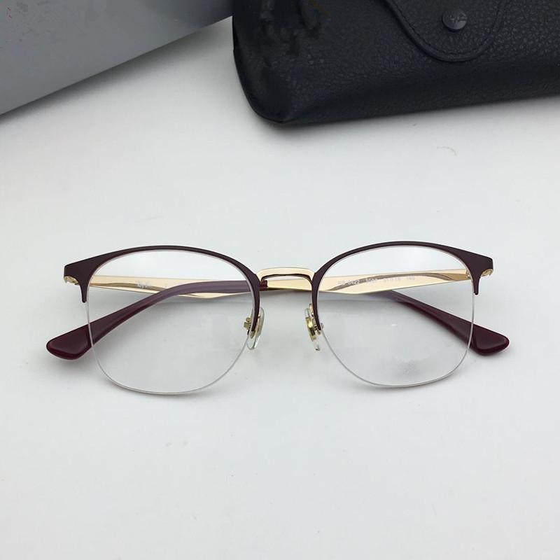 9d18a2fd94 Compre 6422 Gafas De Montura Con Lentes Transparentes Gafas De Diseñador,  Montura De Gafas Diseño De Estilo Simple Y Elegante Para Hombres Y Mujeres  Marca ...