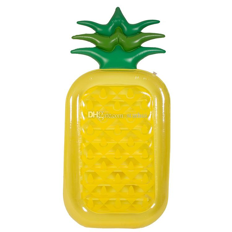 Новый надувной ананас бассейны поплавок плот большие открытые бассейны надувные поплавок игрушка гостиная игрушка для взрослых и детей 180 * 90 см WX9-594
