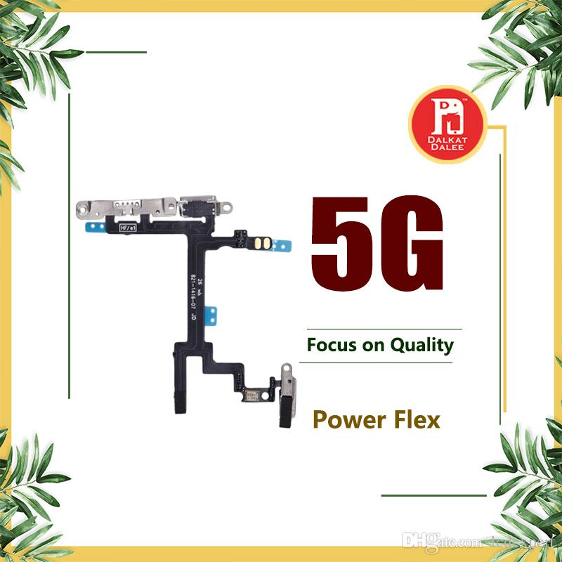 Power Button Volume Buttons Control Connector Flex Cable For iPhone 5 Light Sensor Power Flash Mute Switch ON OFF Replacement Parts