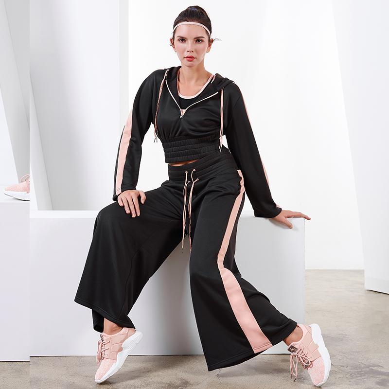 6ab20de4cd10 2019 Vansydical Autumn Winter Sports Suits Women S Gym Clothes Yoga ...