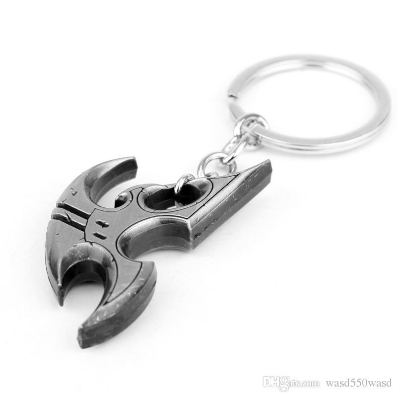 Fashion Anime Game of flying saucer For Men Trinket Portachiavi Car Keyring Key Chain Ring Chaveiro Jewelry Gift Souvenirs