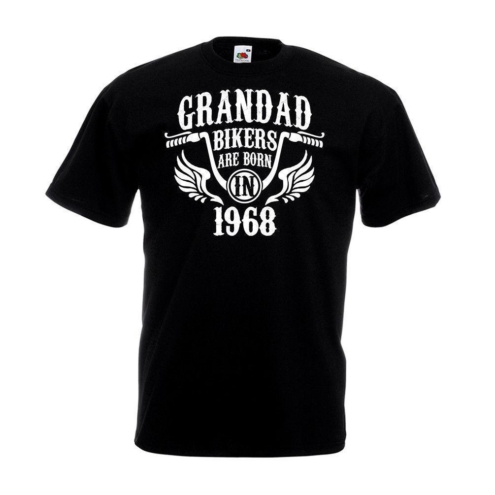 Großhandel Grandad Biker Jahrgang 1968 T Shirt Biker Sind Motorrad