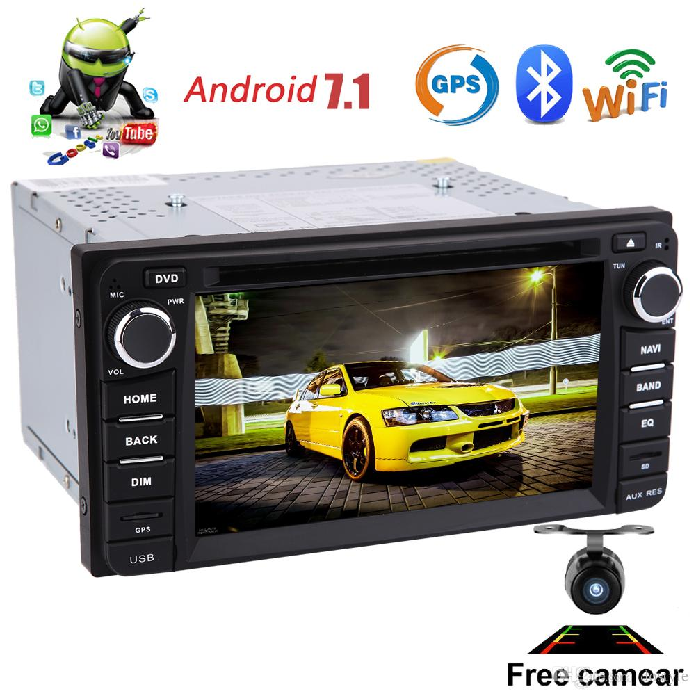 Backup Camera+Car GPS Stereo for TOYOTA Corolla EX 2008~2013 Android 7.1 Octa-Core Double 2Din Car DVD Player 6.2'' Auto Radio Bluetooth