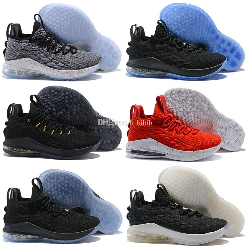 new product 3d9b6 49283 2019 New Ashes Ghost Floral Lebrons 15 Kids Basketball Shoes Lebron shoes  Sneaker 15s Mens sports