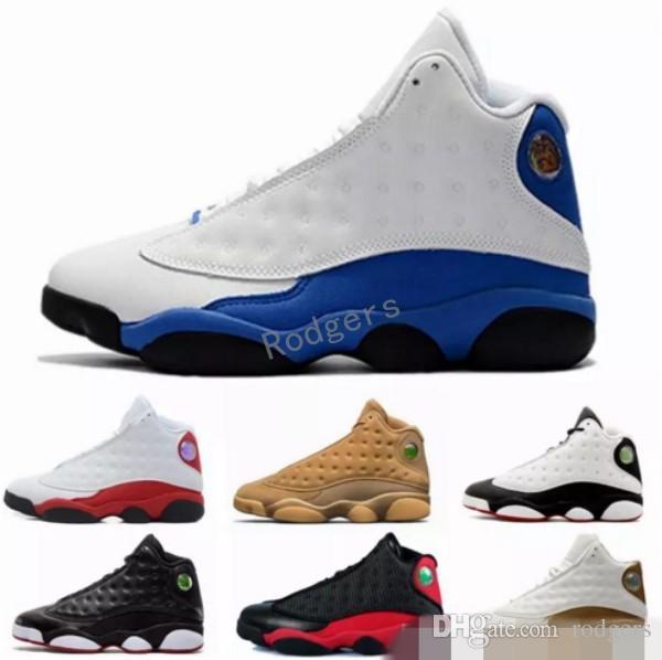 best service 46745 90692 XIII 13 Hyper Royal 13s black cat Italy Blue GS Bordeaux DMP Chicago men  basketball shoes 13s bred Pure Money sports Sneaker 41-47
