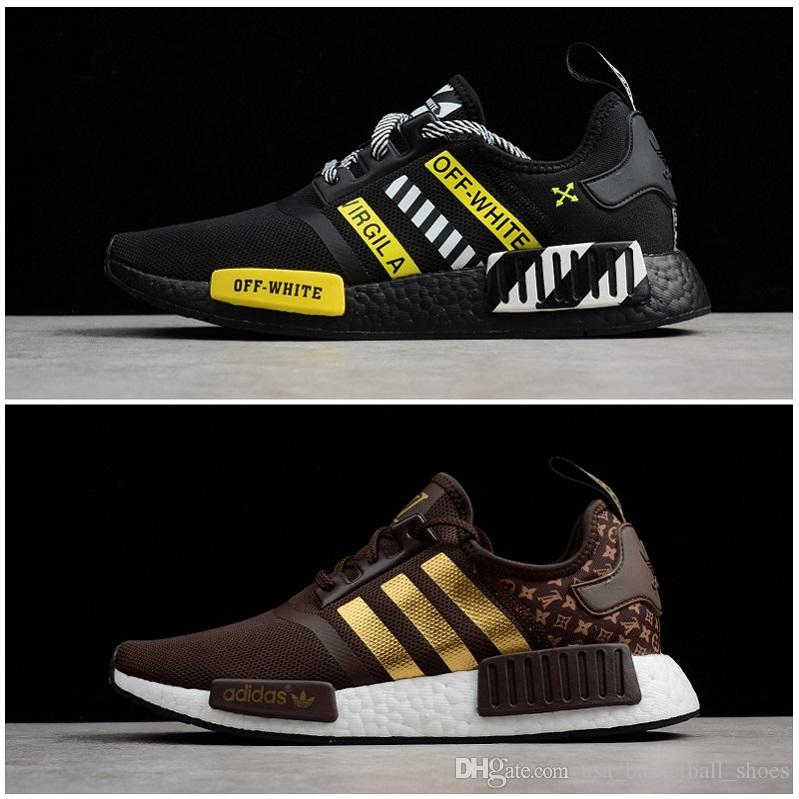 29ebfddc043e4 NMD R1 Undefeated Primeknit PK Running Shoes Men Women Brown Black Yellow  Sneakers Man Orange Red NMD Runner R1 Sports Shoes Mens 40 45 Womens  Running Shoes ...