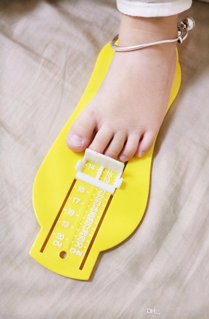 Infant Toddler Baby Kid Feet Length Growing Measuring Ruler Subscript Foot Tool Protractor Scale Baby Foot Measure Device Gauge