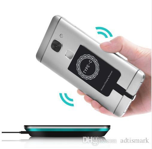 Nuevo Qi Wireless Charger Receiver Module para iPhone Smart Receptor de carga del adaptador para Android Wireless Charger Transmitter
