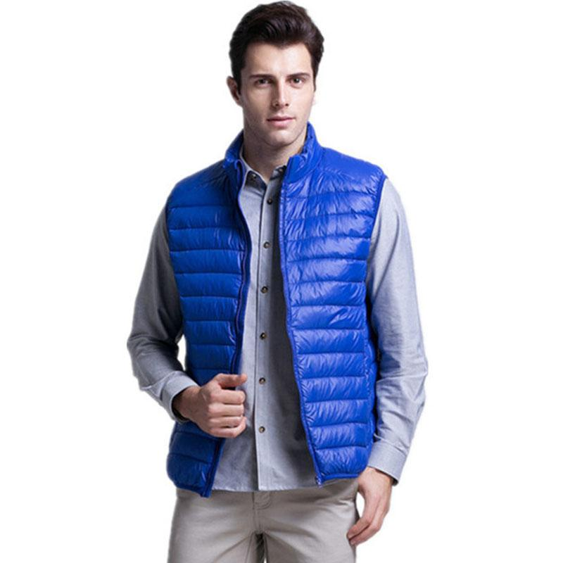 Men's Clothing Down Jackets Winter Jackets Men Lightweight Down Vest Mens Clothes Down Jacket Male Streetwear Windbreaker Plus Size Xxxl Wholesale 2018 New Up-To-Date Styling