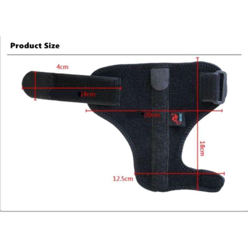 AOLIKES Adjustable Medical Sport Thumb Spica Splint Brace Support Stabiliser Wrist SportWear