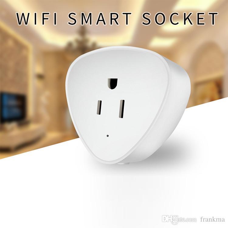Großhandel Wifi Smart Home Steckdose Netzschalter Us Stecker Für ...