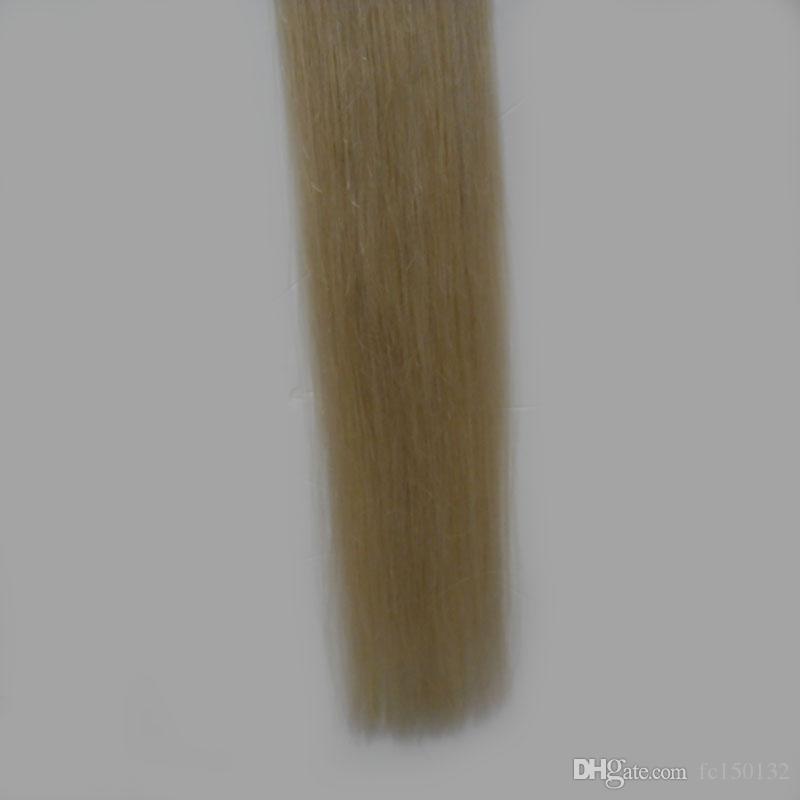 T1B / 613 Blonde ombre 머리카락 확장 용 머리카락 머리카락 없음 1 번들 100g Brazilian Straight hair wholesale