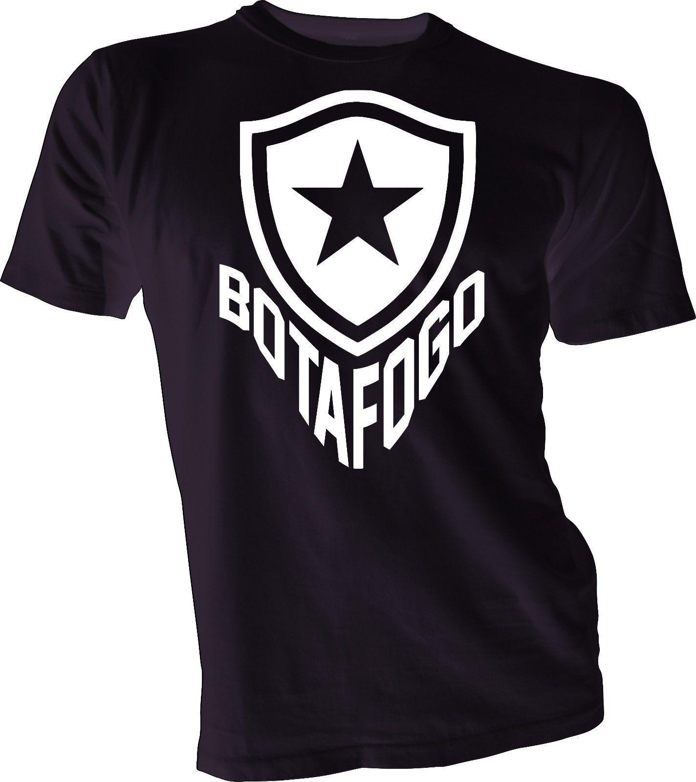 Compre Botafogo Brasil Futebol Futebol Futbol Camiseta Camisa Estrela Rio  De Janeiro Unisex Engraçado Frete Grátis Unisex Presente Ocasional De ... c591e8e73fb8c