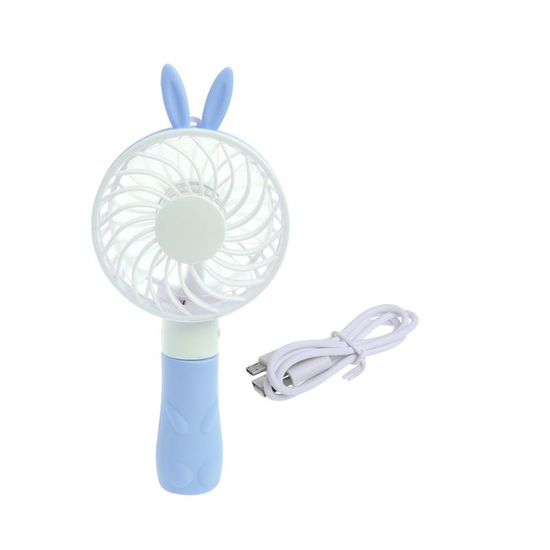 Active Portable Handheld Fan Summer Home Small Fan Cute Cartoon Bear Usb Charging Fan Study Table Lamp Fan Small Air Conditioning Appliances Household Appliances