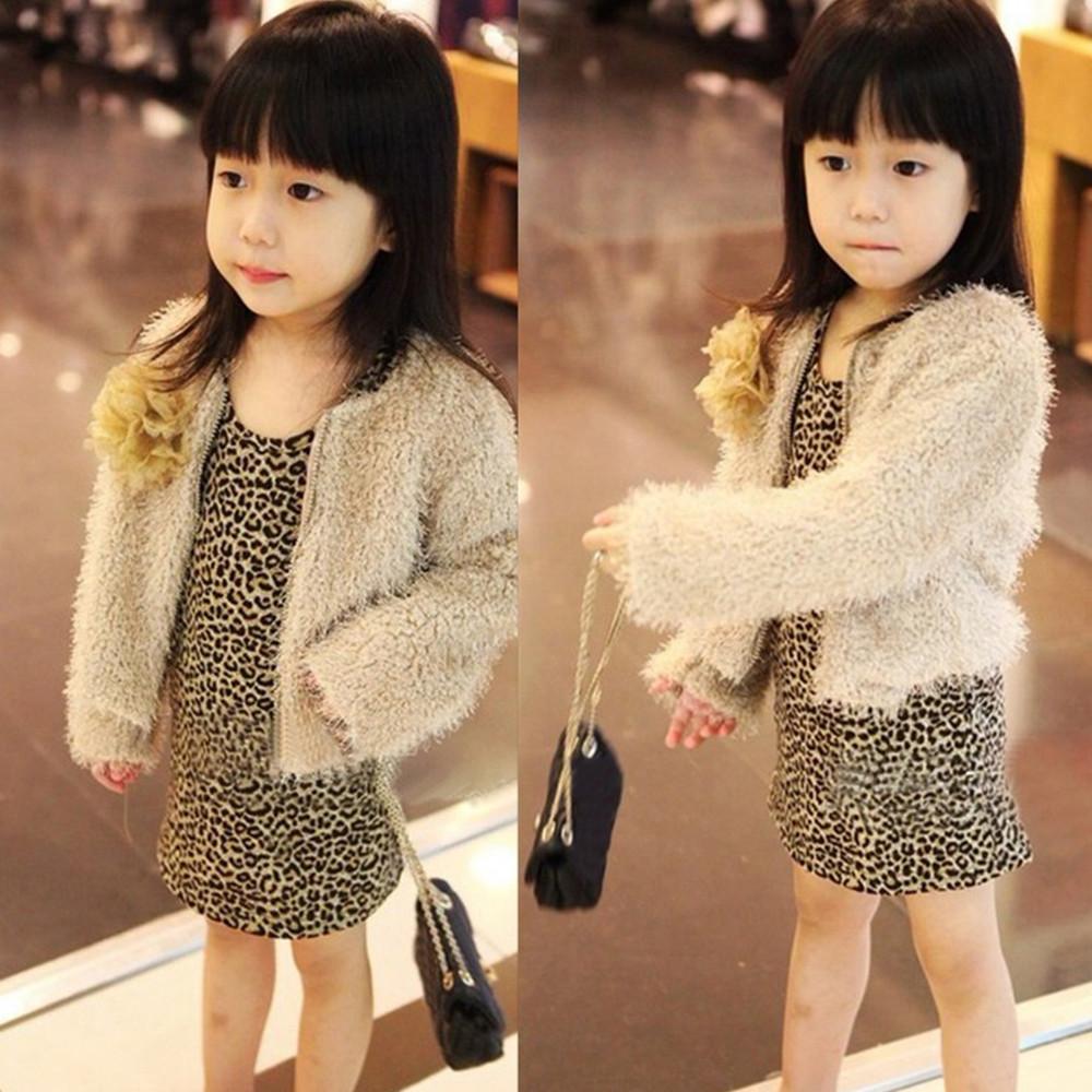 6850031206f3 2019 MUQGEW Fashion Dress Toddler Baby Girl Kid Leopard Long Sleeve  Princess Party Dresses Leopard Long Sleeve Autumn Winter Dress From  Xunqian, ...