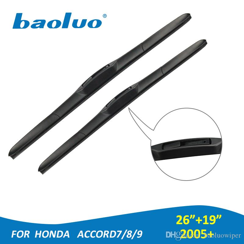 2018 Windshield Wiper Blades For Honda Accord 7 8 9 Generation 2005 Onwards  26+19 Rubber Windscreen Wipers Auto Parts Car Accessories From Baoluowiper,  ...