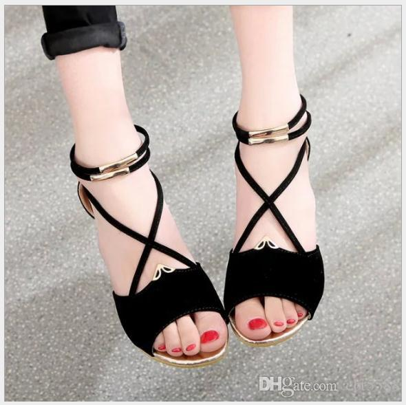 2018 summer new sandals Europe and the United States fashion fish mouth wedges with feet metal zipper bag with women with heels