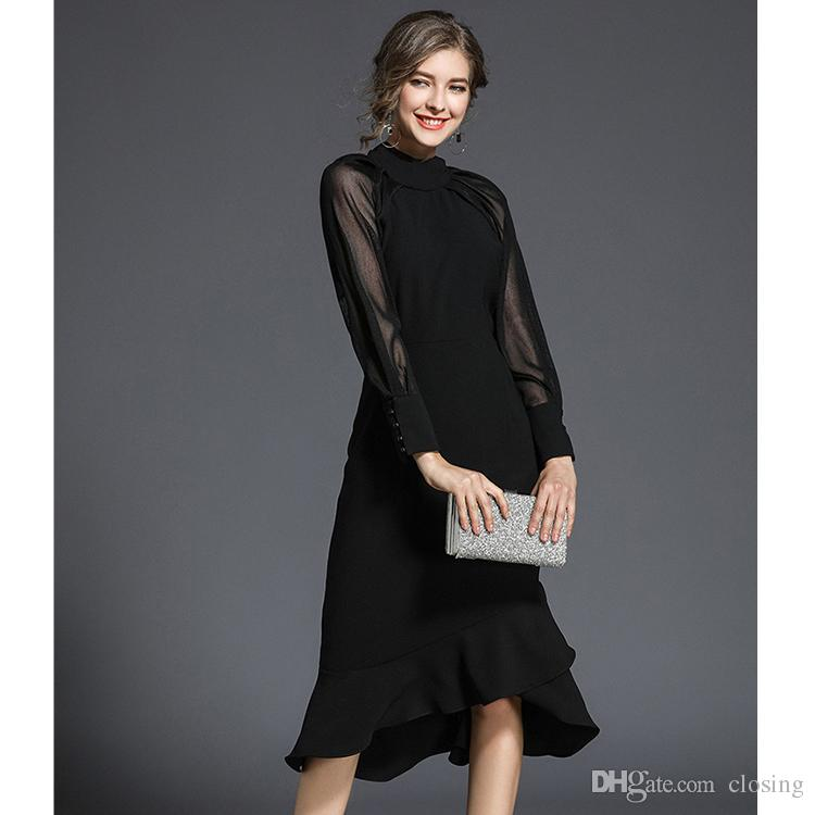 81cb77f778e New Design Summer Female Black Lace Casual Dress Online with   60301.51 Piece on Closing s Store