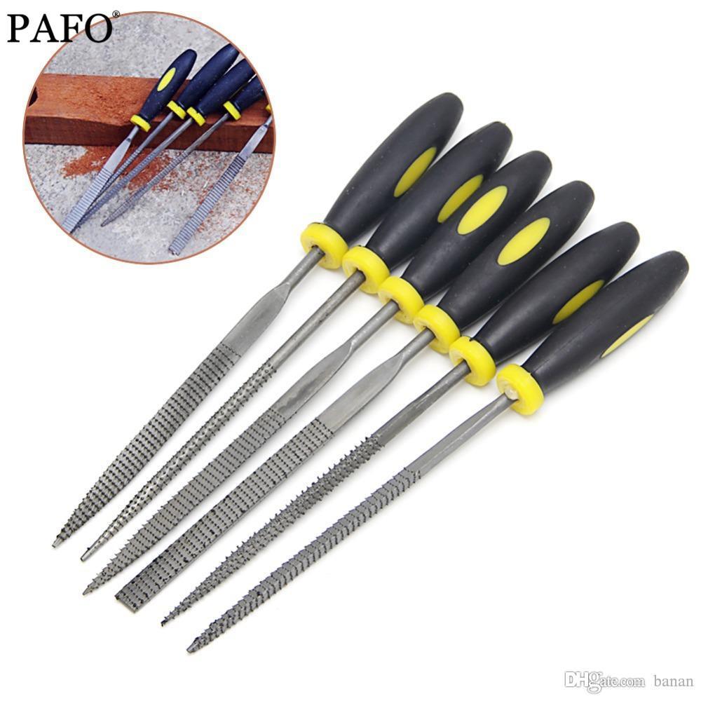 Dateien 140mm Hand Werkzeuge 6 Stücke Mini Metall Einreichung Raspel Nadel Datei Holz Werkzeuge Hand Holzbearbeitung Dateien Werkzeug Werkzeuge