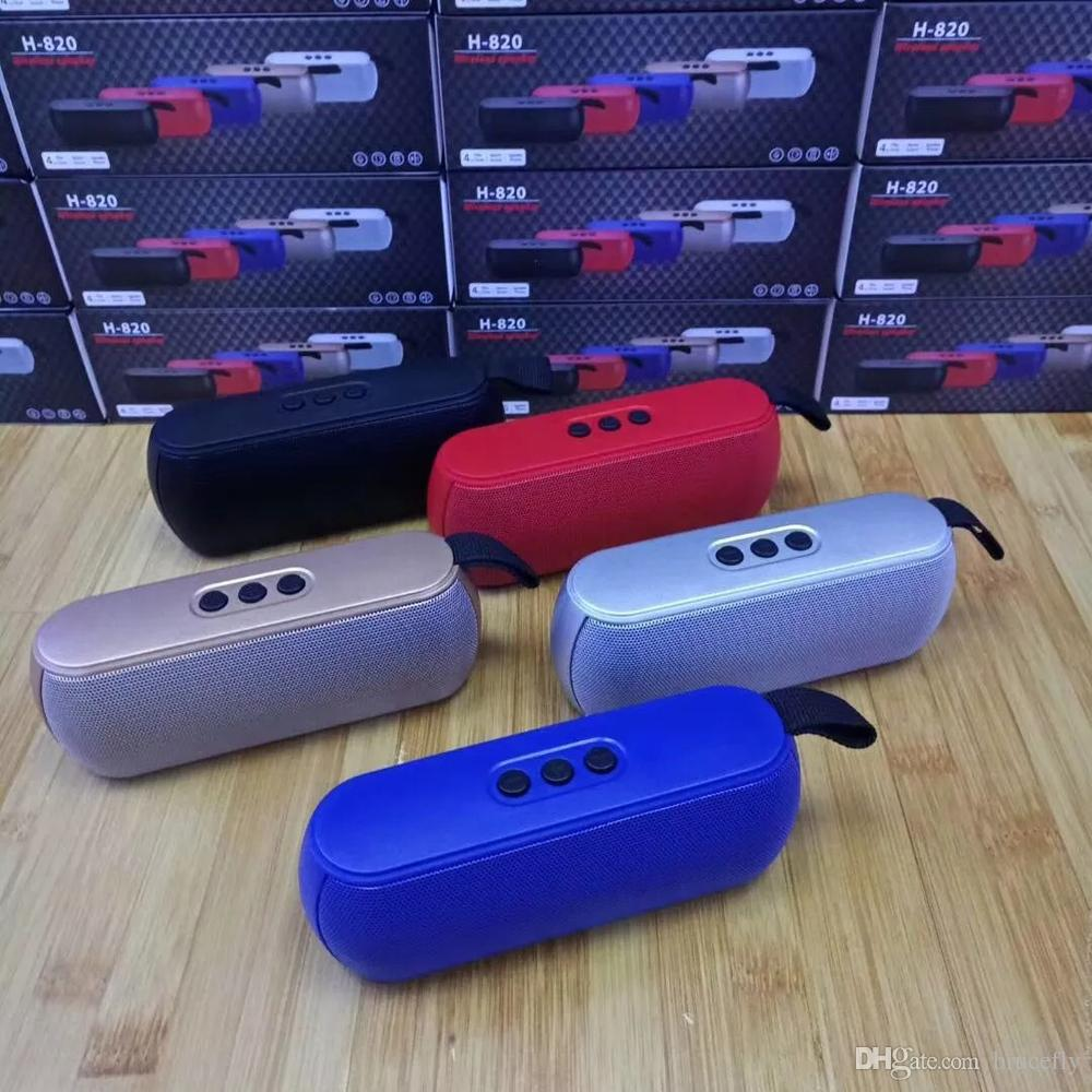 Bluetooth Speaker Mini Portable Wireless Speakers with Hanging Rope Newest Factory Direct Sell TF Card Mini wireless Bluetooth Speakers