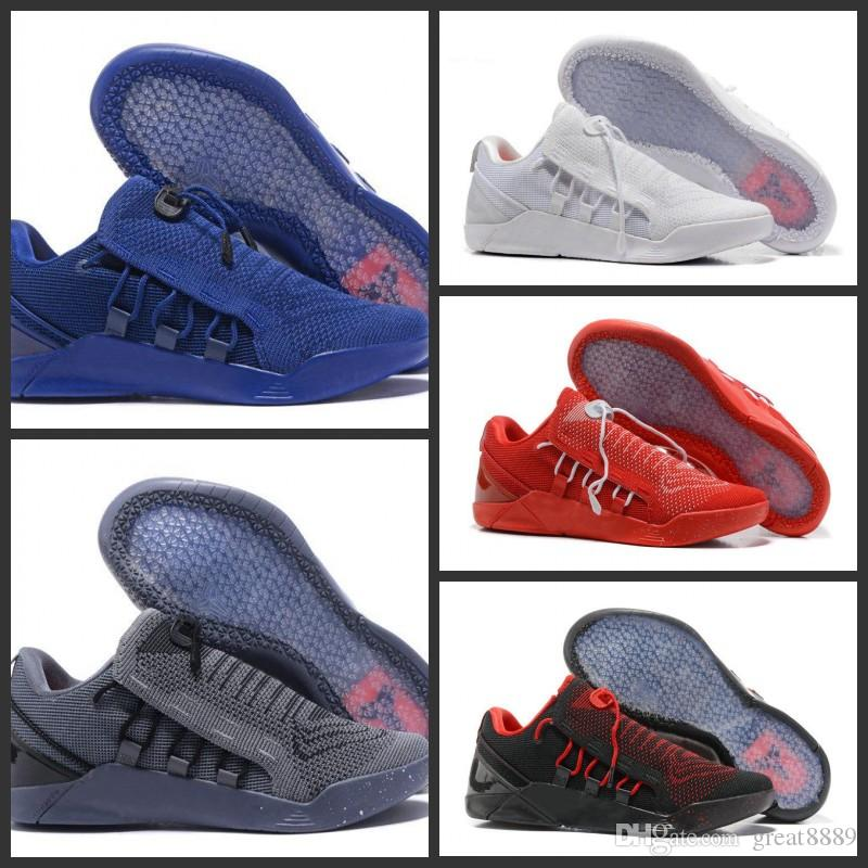 new arrivals 2e352 7d51f 2019 2018 New Mens KOBE A.D. NXT 12 Men KB Volt White Black AD WOLF GREY  Zoom Sport Shoes,Discount Cheap Basketball Shoes From Great8889,  82.46    DHgate.