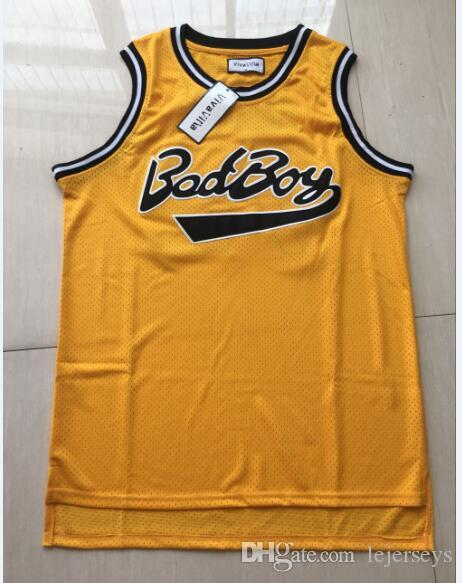 2019 Bad Boy Jersey 72 Notorious B.I.G. Biggie Smalls Basketball Jersey  Stithced Men Movie Basketball Jerseys From Lejerseys 4678b5058
