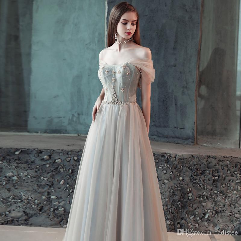 2018 Autumn FADISTEE New Arrival Modern Party Evening Dresses Vestido De  Festa Tulle Prom Dress A Line Frock Sexy Spaghetti Gown Cheap Plus Size Prom  ... eaab20cb0eea