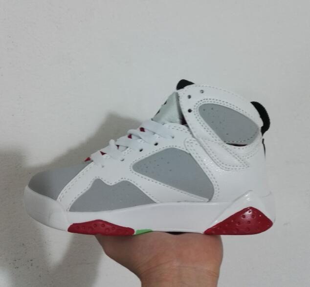 premium selection 88e6b b5106 Compre Nike Air Jordan Aj7 Marca Niños Niñas 7 Niños Zapatillas De  Baloncesto Niños 7s Gimnasio Rojo Rosa Y Blanco Púrpura Francés Azul Niños  Pequeños ...