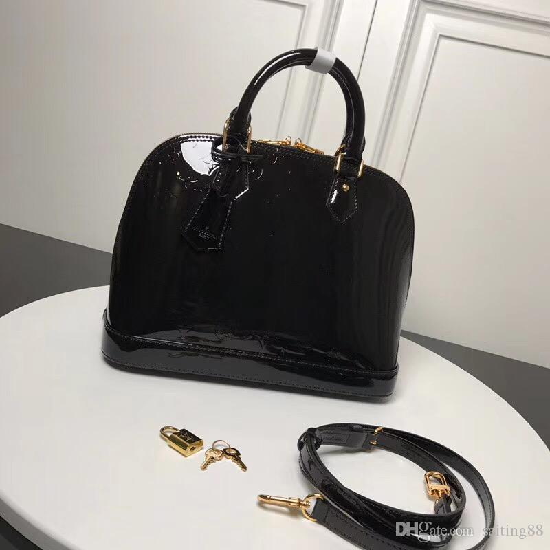 ef8217346e4f Top Quality Alma BB Epi Leather Tote Messenger Cross Body Bags For Women  Shoulder Bag Handbags Purse PM Damier Ebene Ladies M53151 PM MM BB Italian  Leather ...
