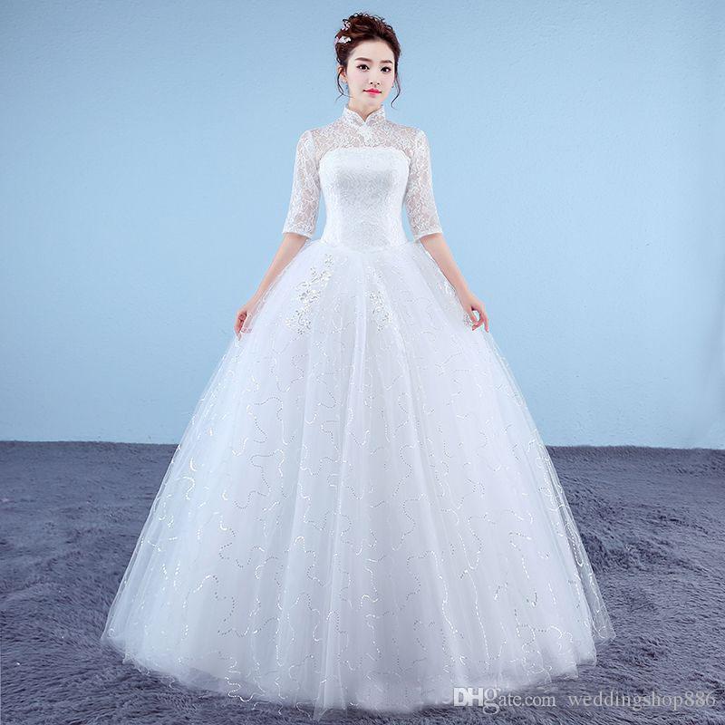 compre vestido de noiva de renda vermelho branco vestidos de