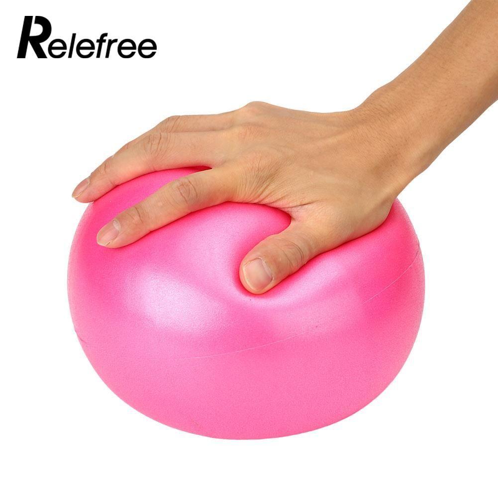 S 25cm Yoga Ball Physical Fitness Exercise Balance Sport Ball Pilates Birthing