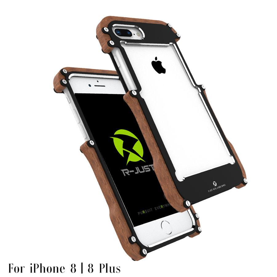 Wholesale Wood Case For Iphone 8 Plus Shockproof Metal Frame Alumunium Bumper Asus Zenfone 2 55 Cover Iphone8 Aluminum Shell Online With 3669 Piece On