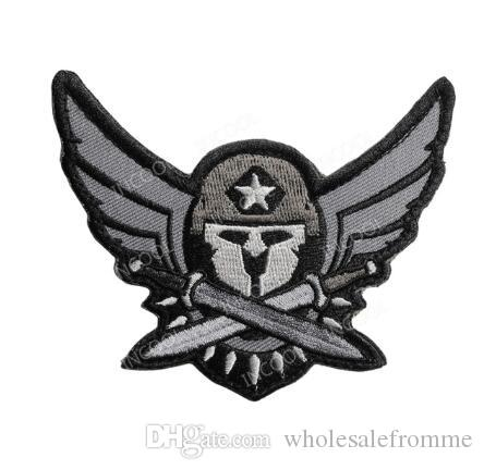 Apparel Sewing & Fabric Home & Garden 3d Spartan Medic Tactical Embroidered Military Emt Morale Badge