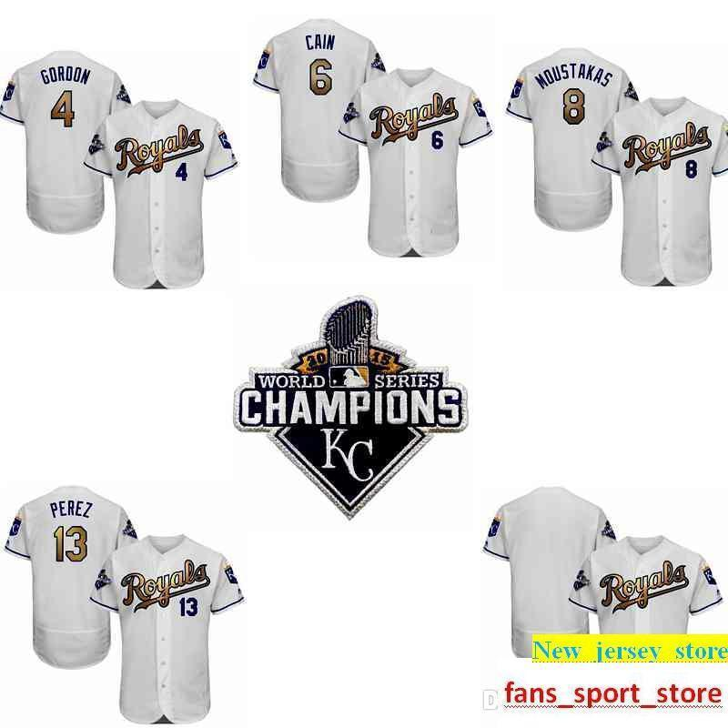 new styles 8c7fb 7a577 2016 Royals Jersey 35 Eric Hosmer Flexbase Authentic Collection Baseball  Jersey World Series Champions Gold Program
