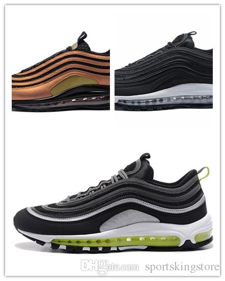 discount clearance store 2018 New 97 x UNDEFEATED Running Shoes Silver Bullet Triple White Balck Metallic Gold Skepta Mens Women Trainers Sport Sneakers Eur36-46 deals cheap online cheap nicekicks collections sale online GPCD8qp4Bp