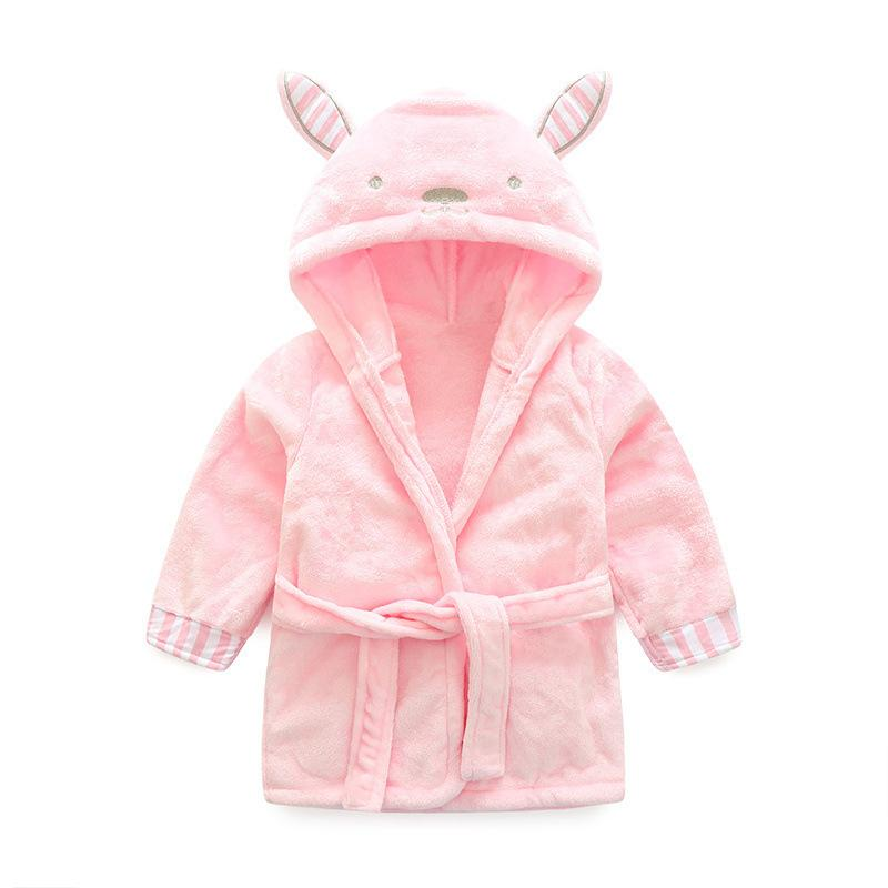 50075cca86 High Quality Children S Bathrobe Retail! Baby Pc 1 Boy Girl Soft Velvet  Robe Pajamas Coral Children Dress Baby Clothes Christmas Pajamas Kids Girls  Holiday ...