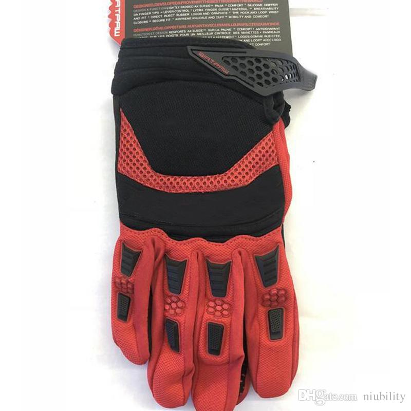 Fox Cycling Motorcycle Racing Gloves Autumn Winter Full Finger