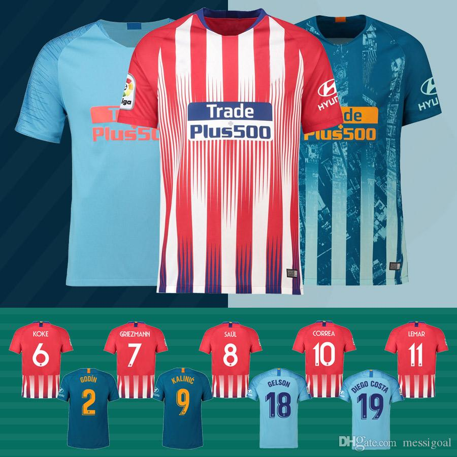 2f6a71b3166 ... uk long sleeves soccer club jersey competitive price 4e0e0 48b7b new atletico  madrid jersey 18 19