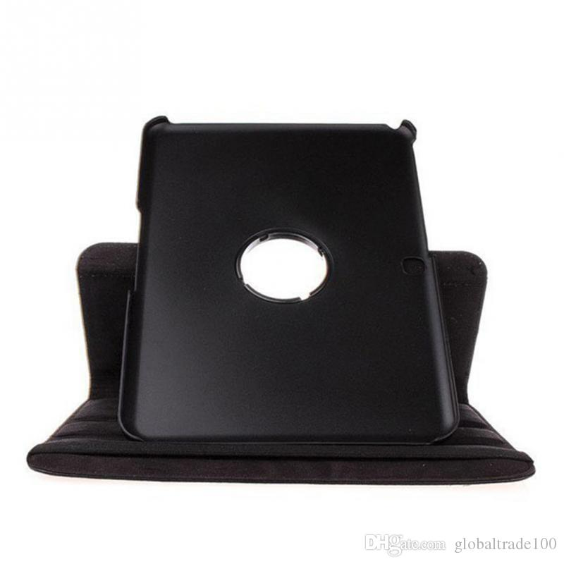 360 Rotating Tablet Case For Samsung Galaxy Tab 4 10.1 T530 T531 T535 Tablets PU Leather Smart Stand Cases Cover