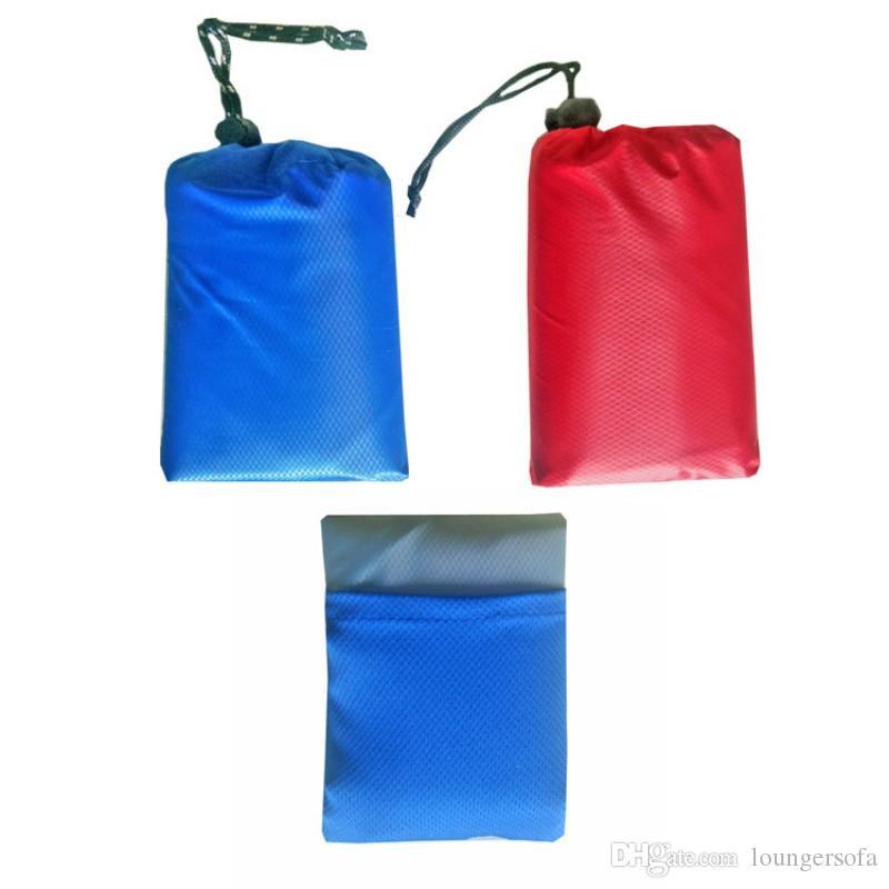 Tasca portatile Coperta Impermeabile Anti lacrime Mini Picnic Pads Facile da trasportare Square Beach Mat vendita calda 17 5lk B