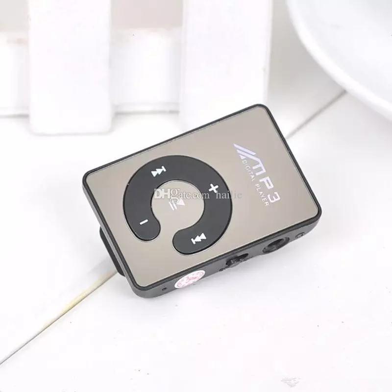 2017 Nouveau Mini Clip USB Numérique Mp3 Music Player Sport MP3 Avec Micro SD TF Carte Slot Lecteur MP3 Seulement un joueur sans USB Livraison Gratuite
