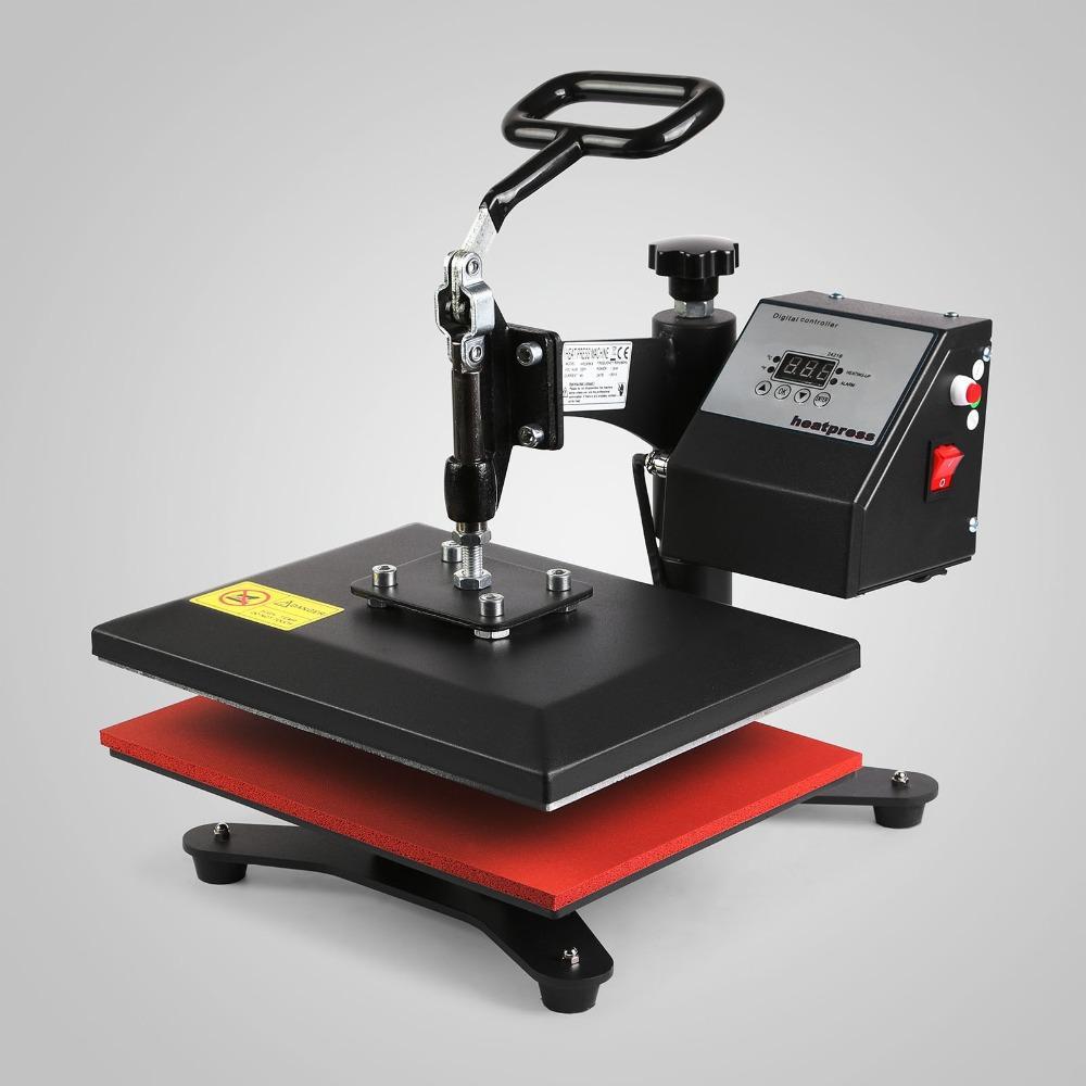 Manual T Shirt Printing Machine For Milticolors T Shirt Heat Press