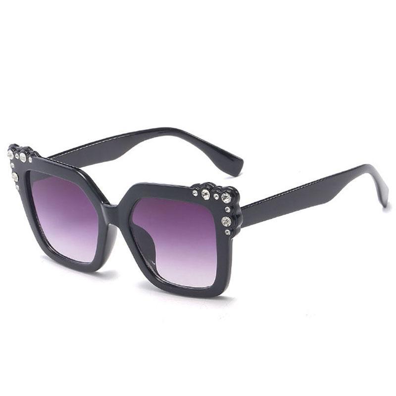 5b7f0341e843 Sunglasses For Women Trendy Ladies Sunglass Woman Luxury Sun Glasses  Fashion Oversized Sunglases 2018 Rhinestone Designer Sunglasses 7C7J67  Circle ...