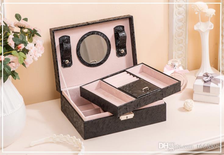 Scatola di gioielli contratta europea principessa Corea atto a mano il ruolo ofing è assaggiato desktop ricevere scatola di gioielli in legno con scatola di gioielli arguzia