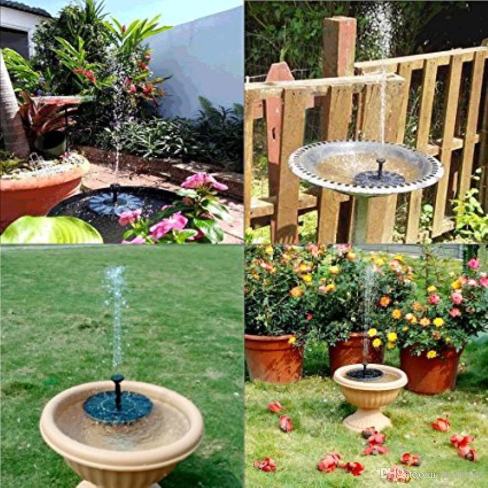 Marvelous 2018 Fountain Pump Water Pump Water Fountain Pond Solar Free Standing Water  Fountain Pump Kit With 4 Different Spray Heads For Bird Bath, Fish From  Beautyes ...