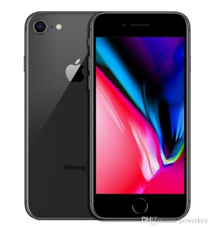 Yeni Orijinal Yenilenmiş Apple iPhone 8 8 artı 4.7 5.5 inç 64 GB / 256 GB ROM 2 GB RAM hexa Çekirdek 12MP LTE Cep Telefonu
