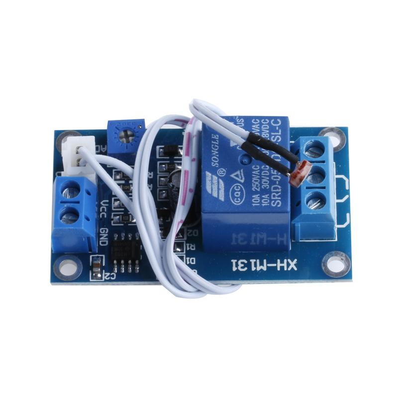 12V Photoresistor DC Module Relay Light Detection Sensor Light Control Switch