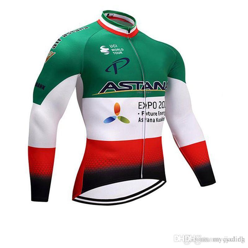 e4ad3890d New Astana Cycling Clothing Ropa Ciclismo Long Sleeve Tops Spring ...